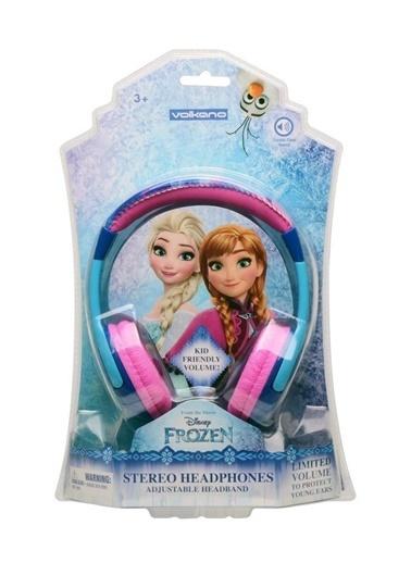 Volkano Disney Frozen Karlar Ülkesi Anna Elsa Olaf Çocuk Kulaklığı Lisanslı DY-10901-FR Renkli